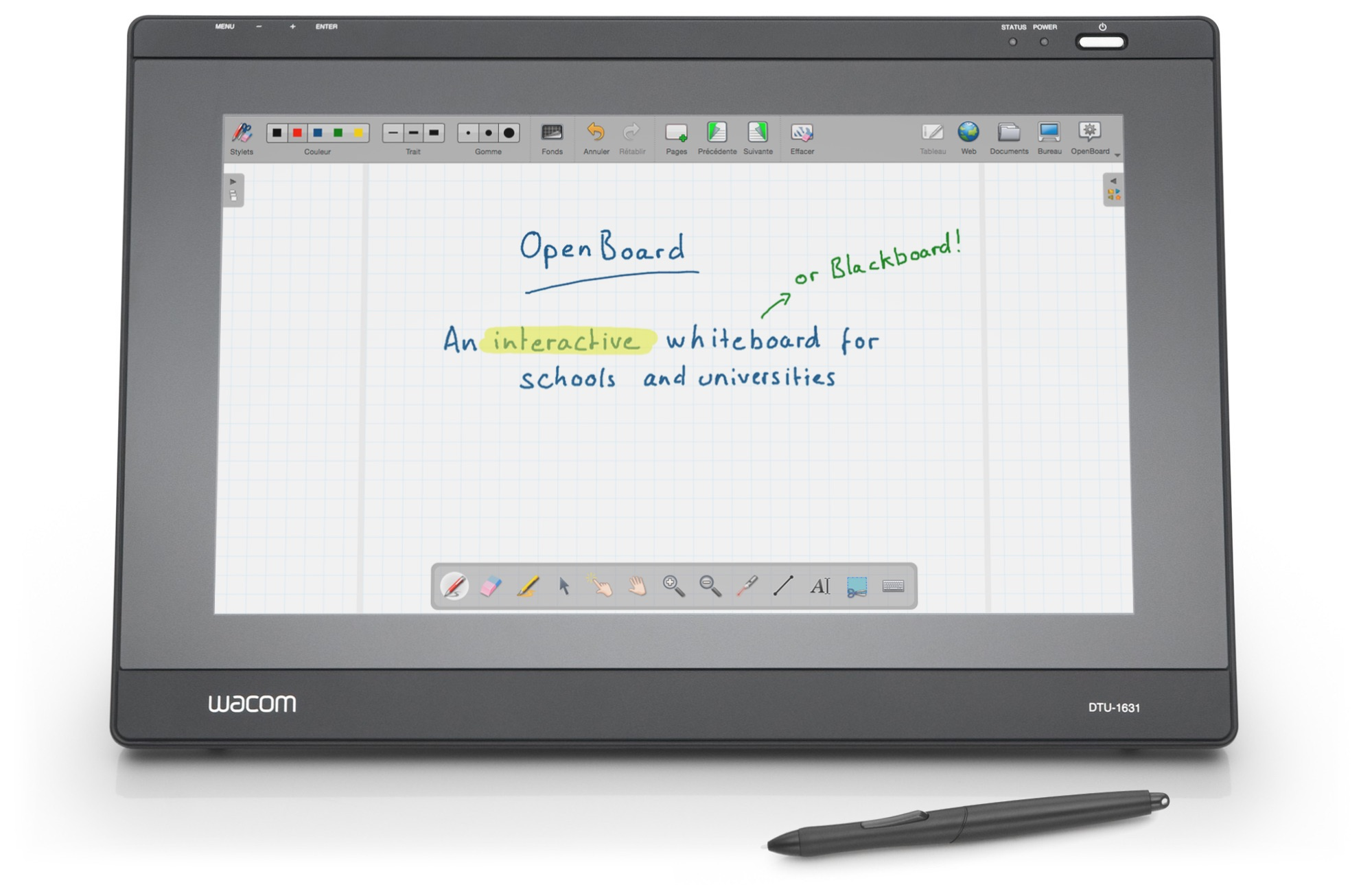 OpenBoard, the best interactive whiteboard for schools and